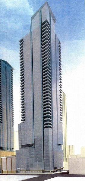 Heron & Pagoda Towers