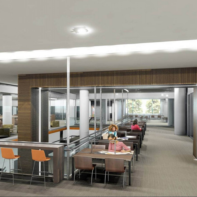 LAGUARDIA COMMUNITY COLLEGE LIBRARY EXPANSION