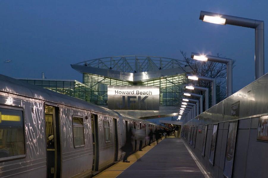 Howard Beach Subway Station