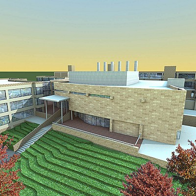 BEHAVIORAL NEUROSCIENCE RESEARCH FACILITY ADDITION AT SUNY BINGHAMTON UNIVERSITY
