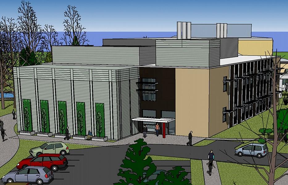 SUNY Plattsburgh Hudson Hall Phase I and II